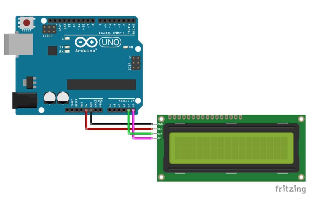 I2C Liquid Crystal Displays - Arduino Project Hub