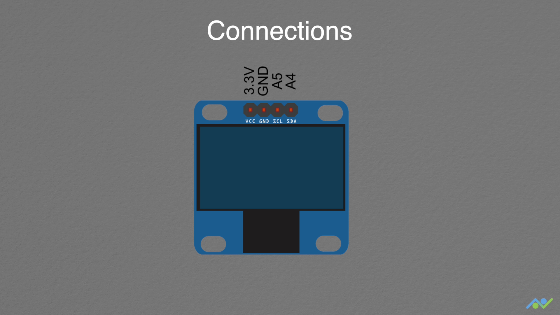Oled pin connections nlcgbbmhw2