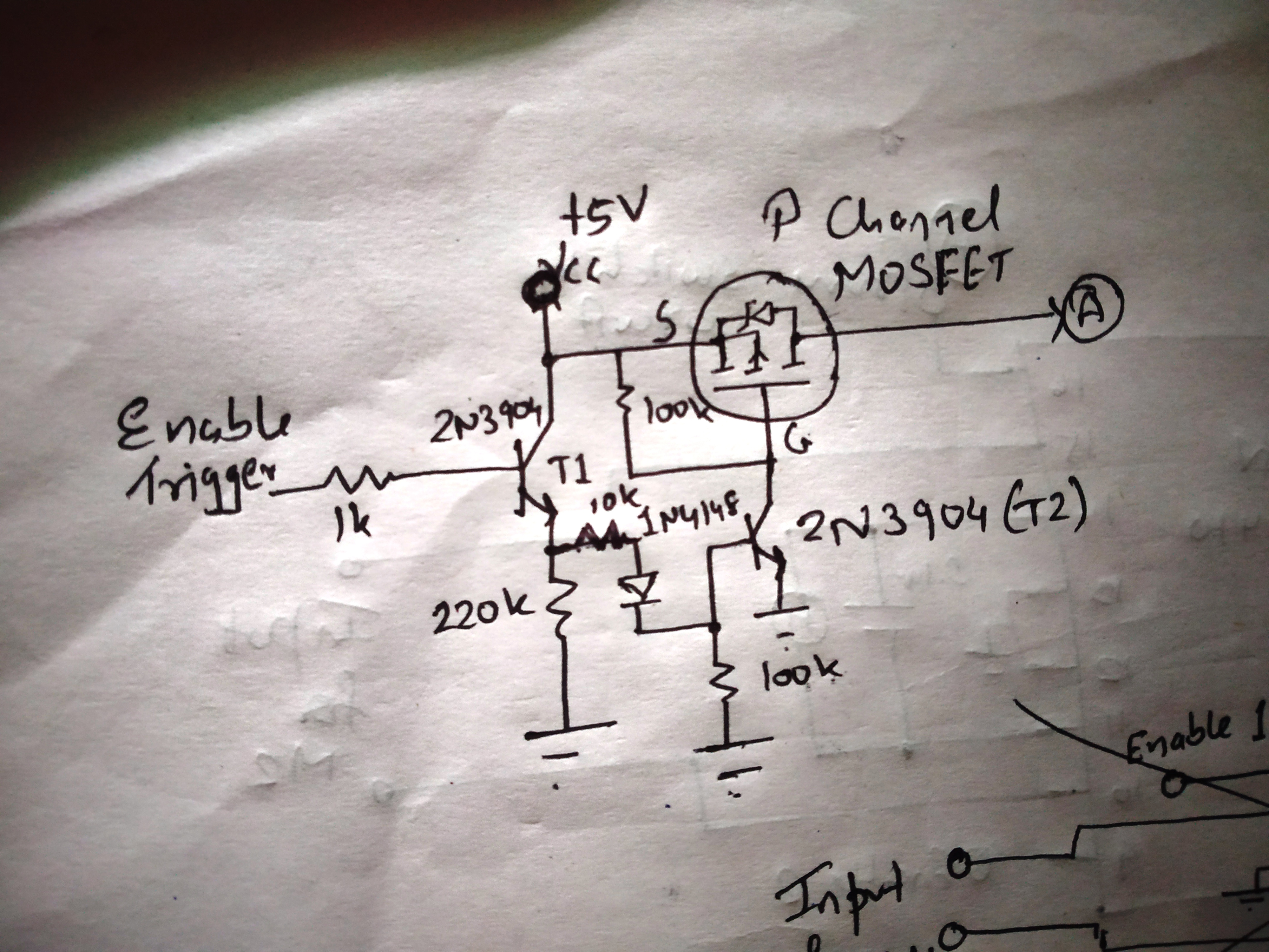 Power switching circuit hfzoxiolni
