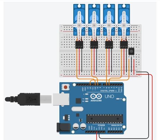 Circuit robot ksbtfcsvep