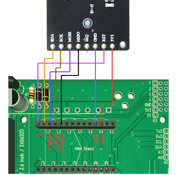 Wiring rfid reader 2 srhgnamulu