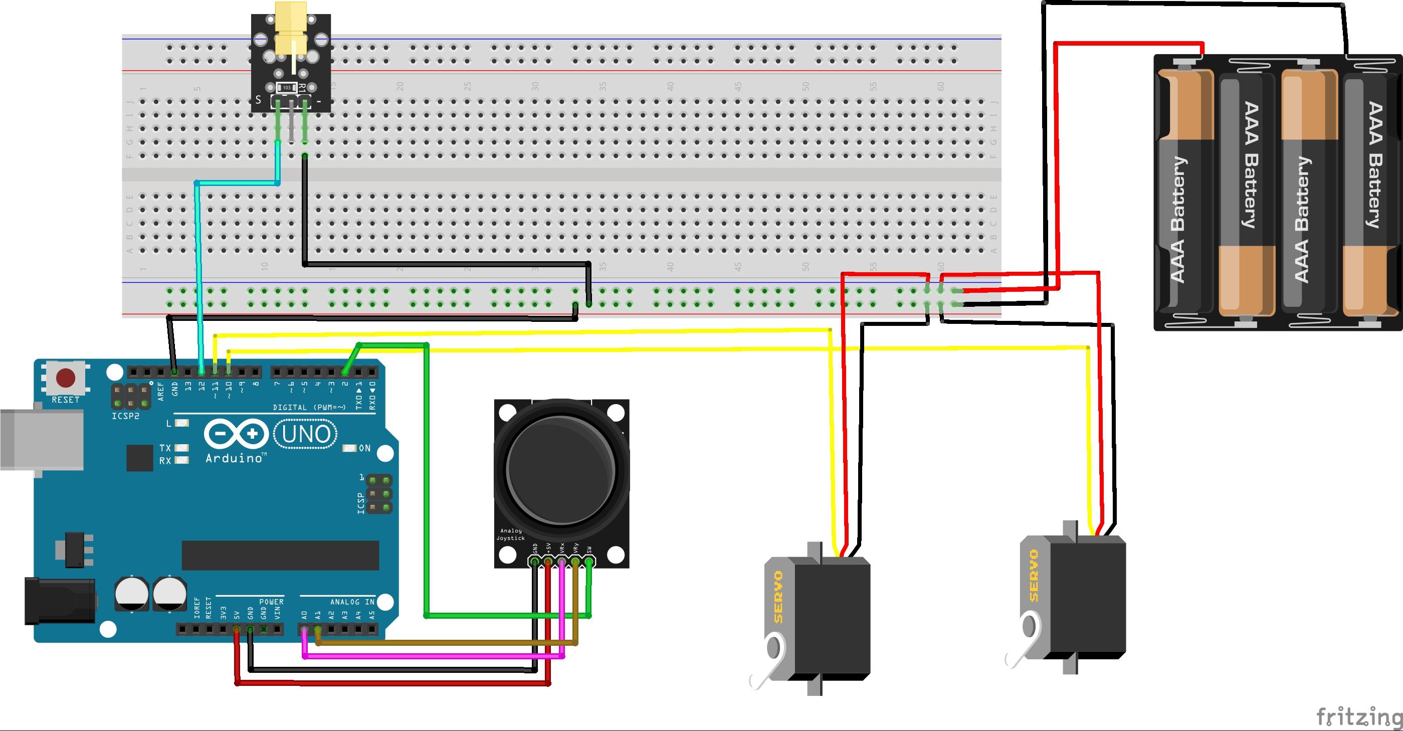 Arduino joystick bb rday8uflzo