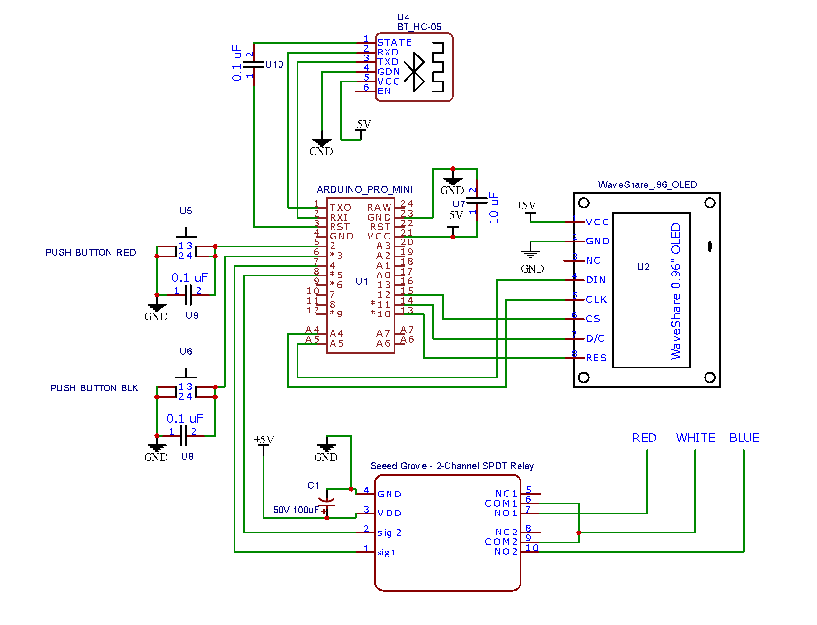 [SCHEMATICS_4UK]  Washing Machine Timer - Arduino Project Hub | Wiring Diagram Of Washing Machine Timer |  | Arduino Create