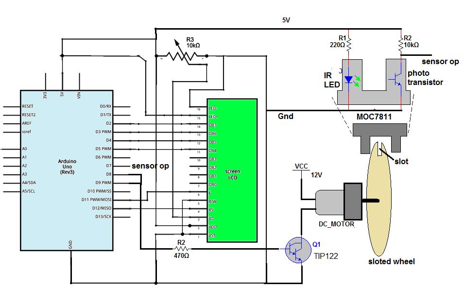 Dc motor speed testing using arduino circuit rnblkfmkvd