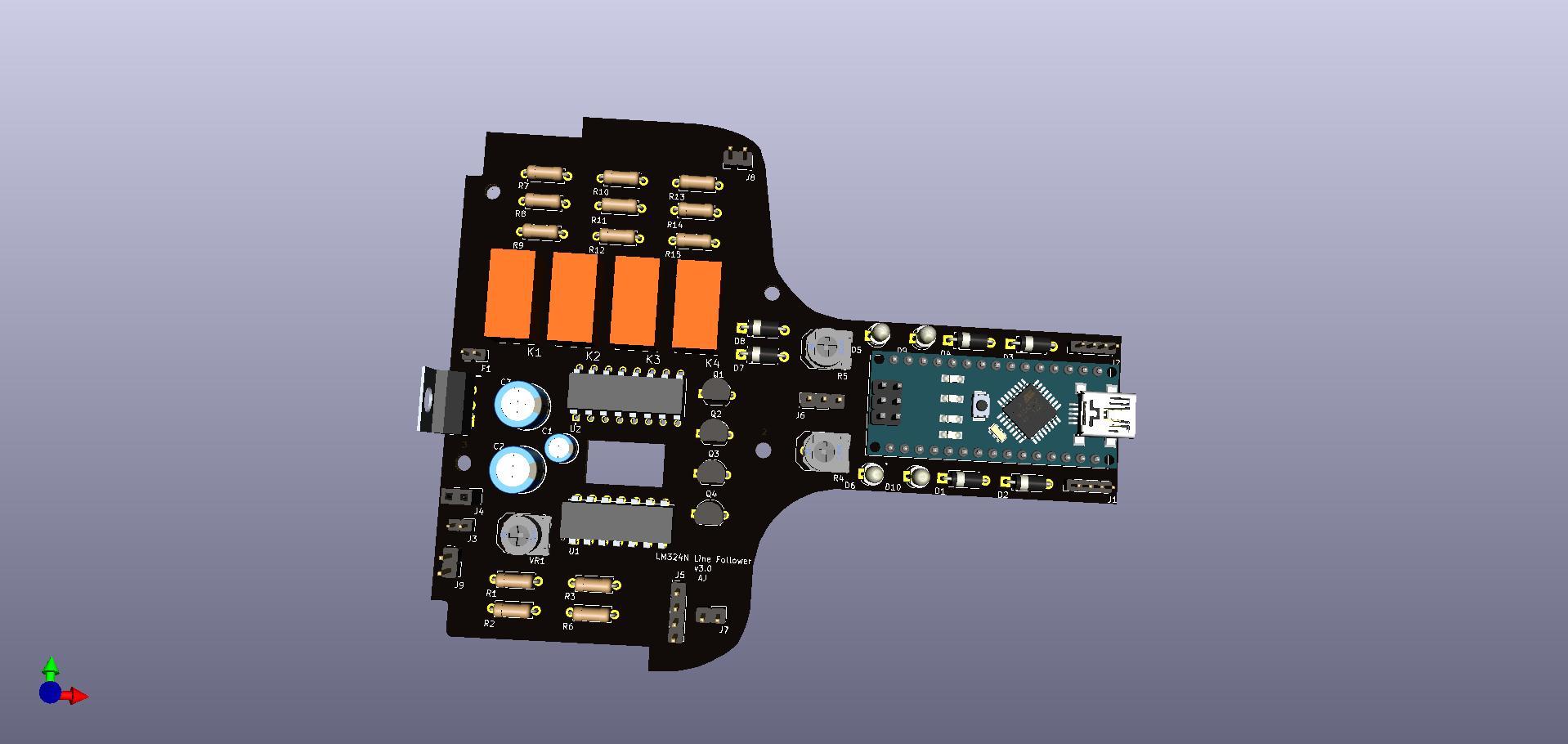 Lm324n with backup arduino nano line follower osmajs4wjd