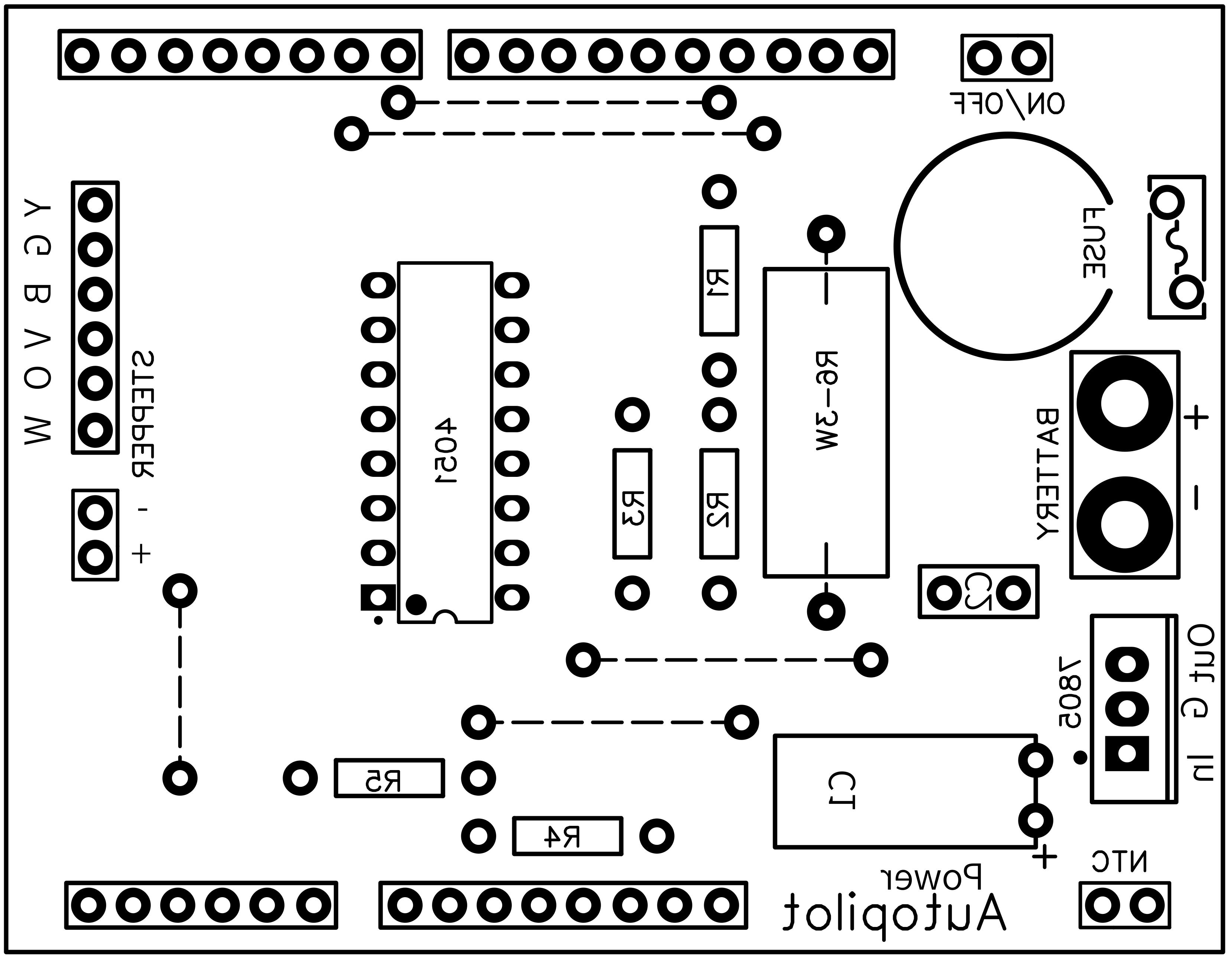 Pcb ard autopilot power componentface 4vc3pdhoyz