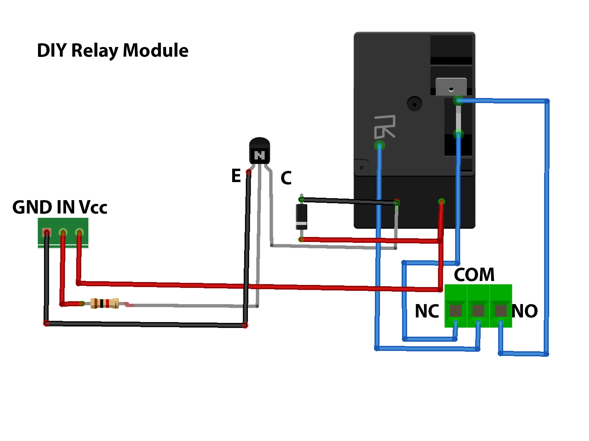Relay module flgzqjdffp