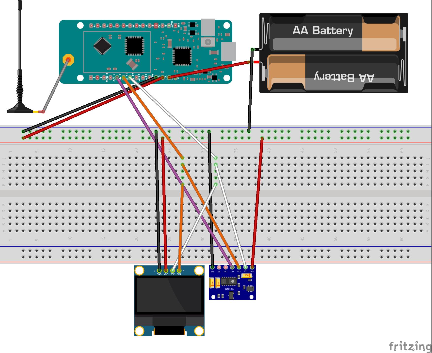 Sigfox oximeter proto bb x1mttwsbpo