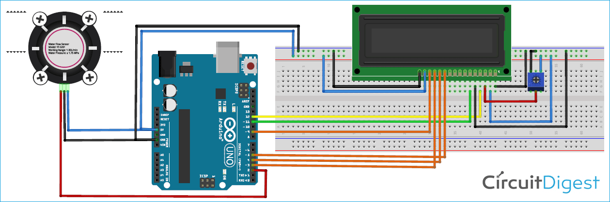 Arduino water flow sensor circuit diagram zhl1mtkkoj