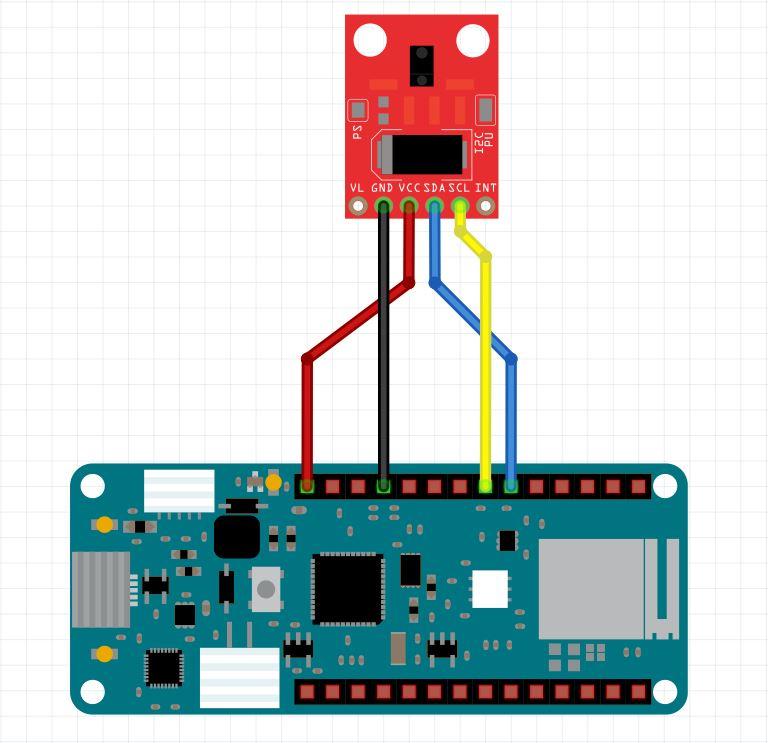 Arduino to gesture sensor 7hmatx4czt