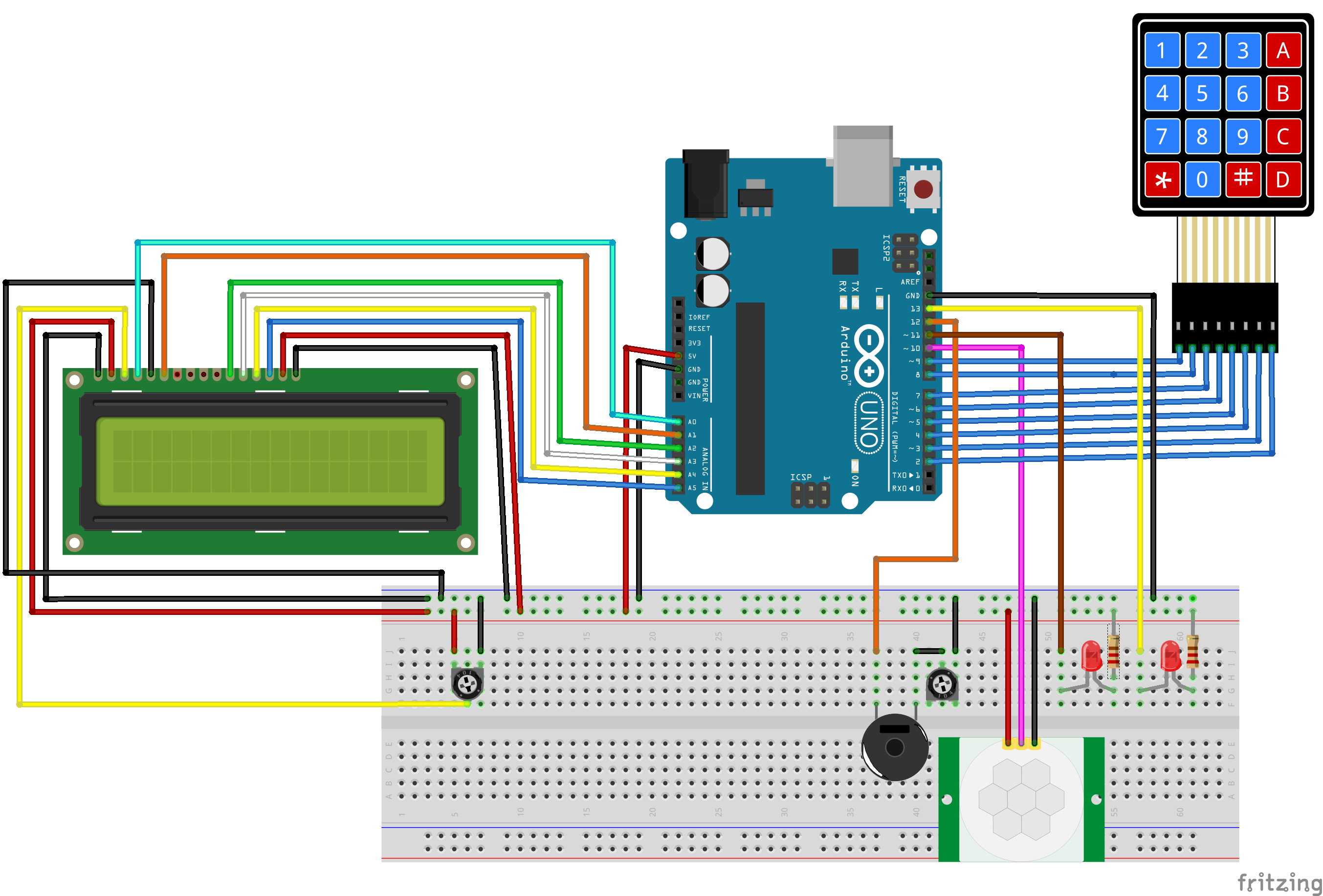Arduino alarm system bb w5fomnywey