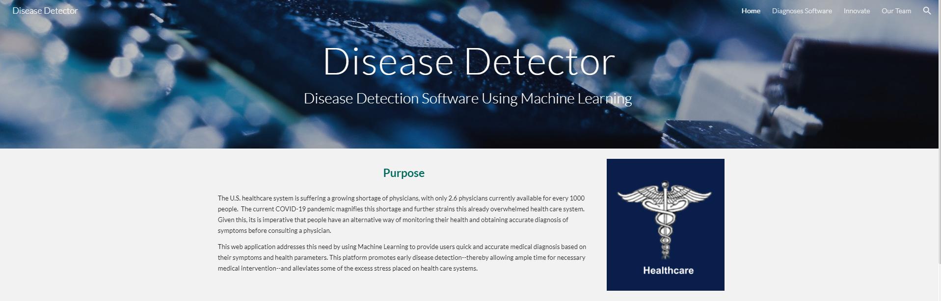 Disease detector diagram pi7arcd4kc