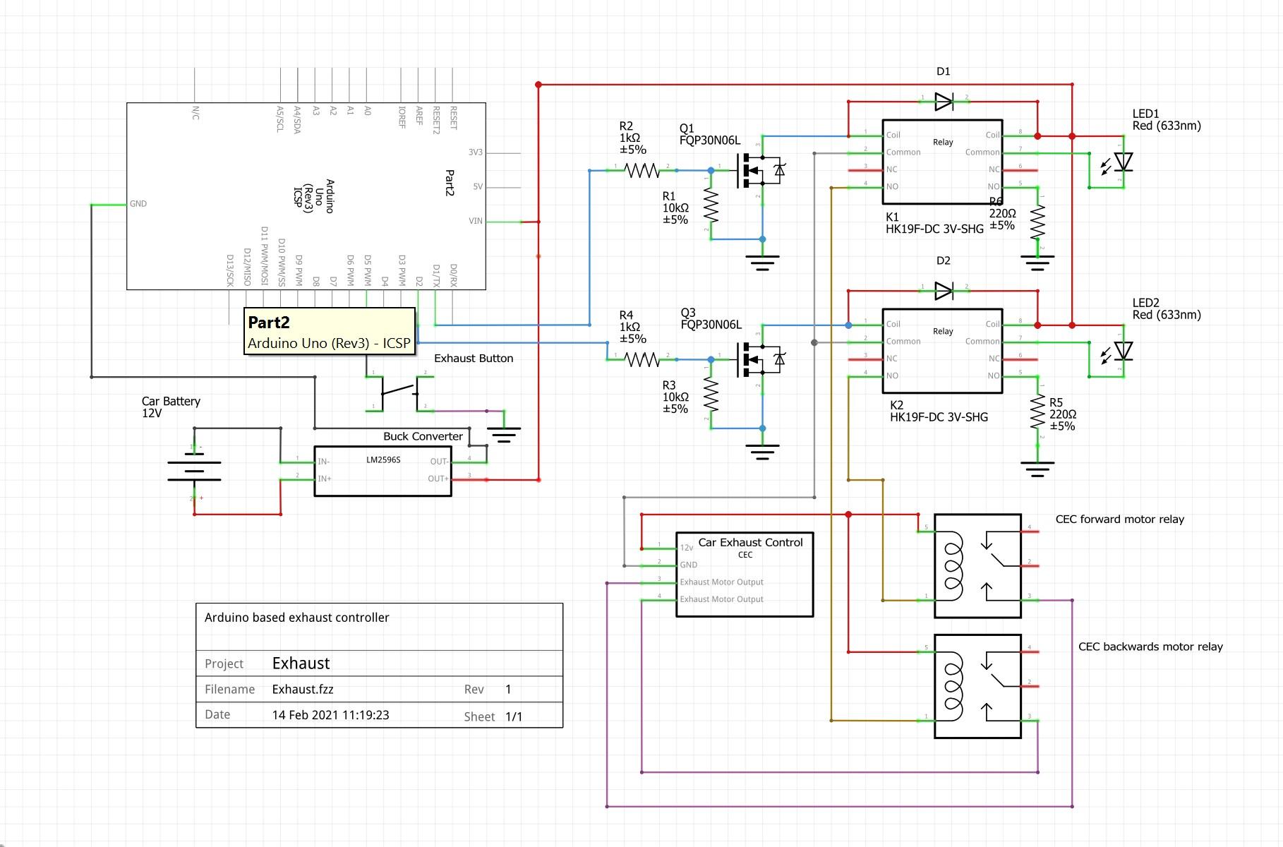 Exhaust uno schematic uxjkyrwifh