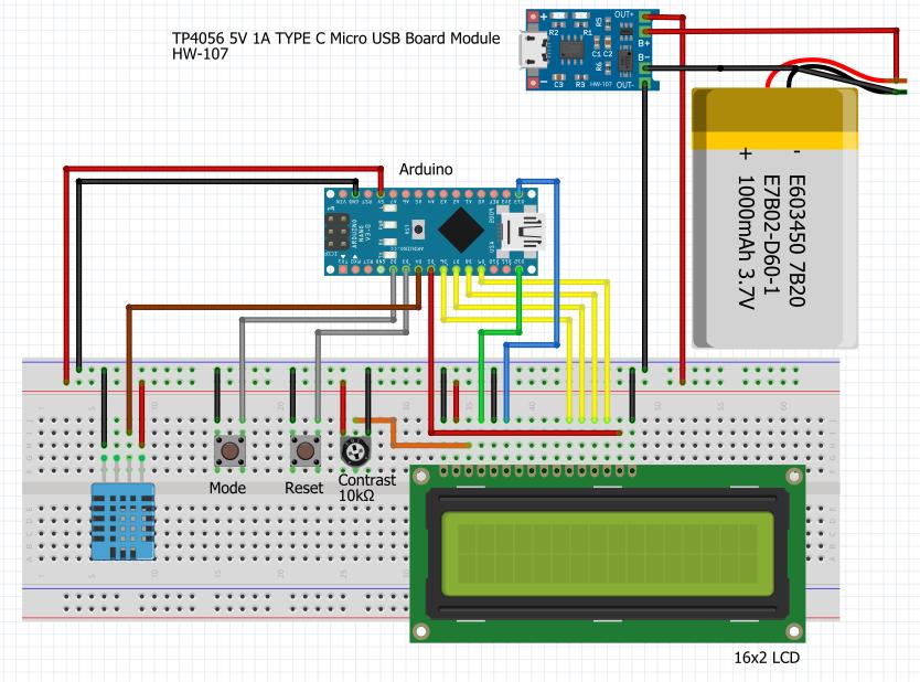 Monitor lcd version breadboard ddouyhj84m