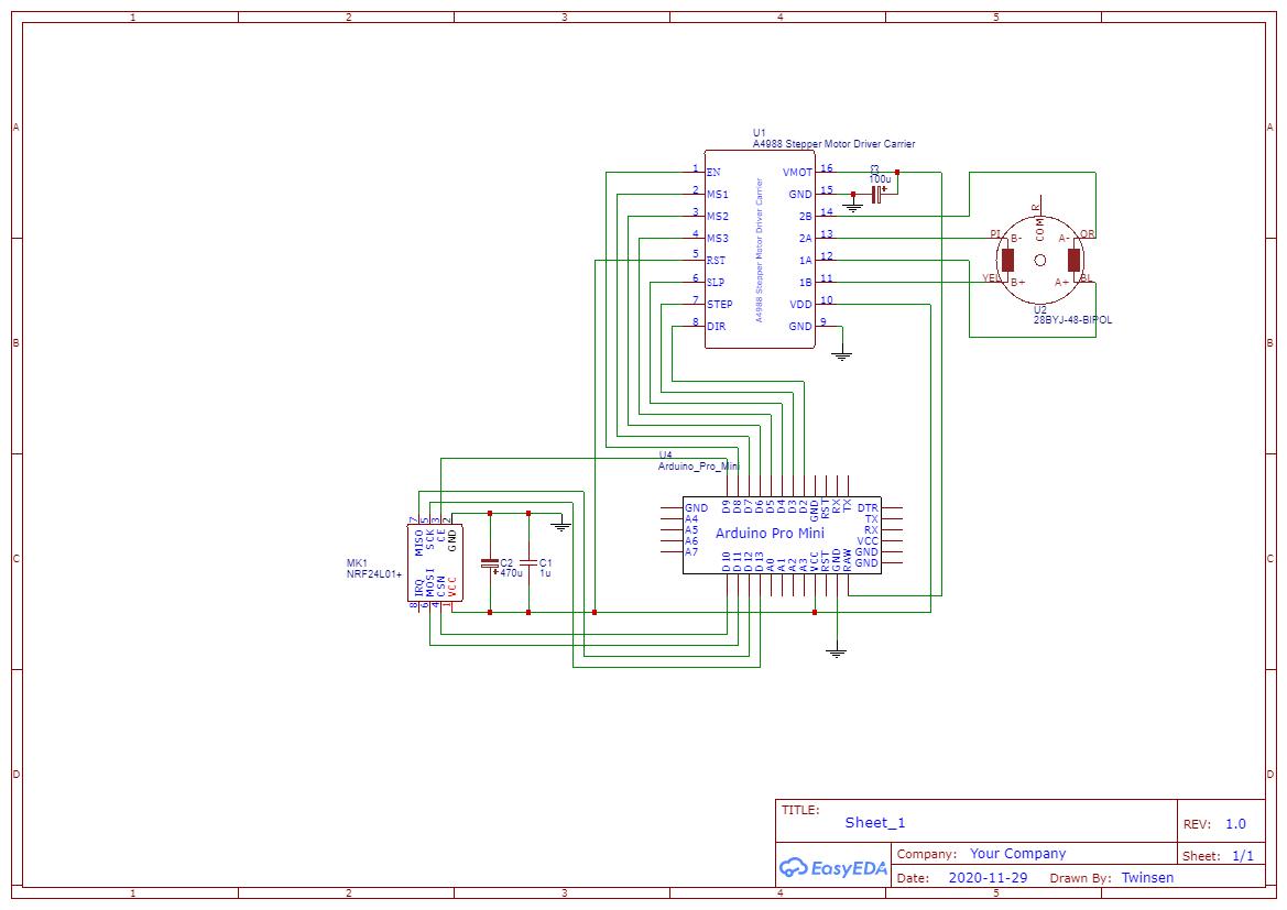 Schematic automatic roller blinds motor 2021 06 11 4zonlpyksf