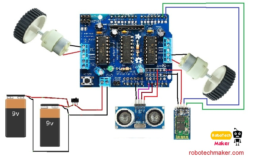 .compleat%20circuit%20digrem%20of%20arduino%20bluetooth%20obstacle%20avoider%20robot.