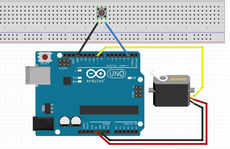 Arduino servo counter
