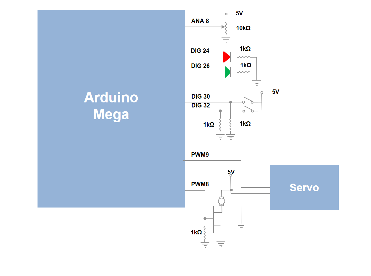 Arduino fan schematic
