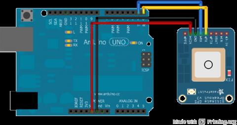 Arduino gps voo7un5gec
