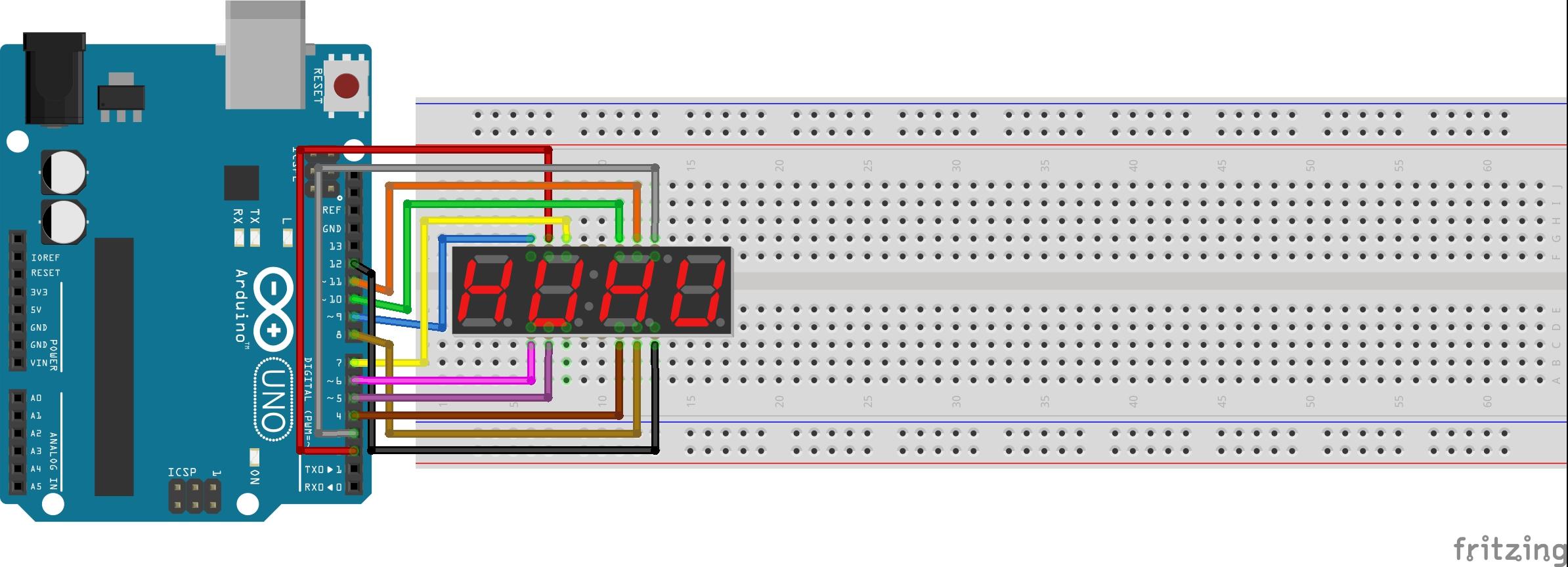 4 digit 7 segment display connections kasufbbpfq
