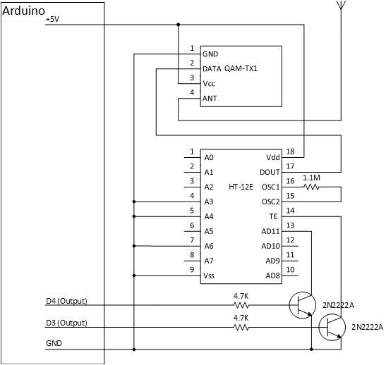 Arduino transmit circuit kqonr1jfym
