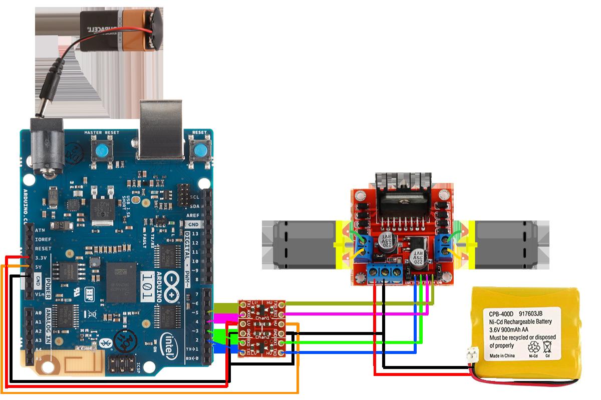 Arduino 101 bt rc car schematics bms4eghalv