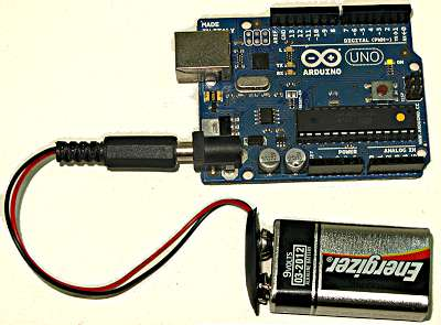 Figure 16   arduino connected to 9 volt battery 2eoty3tab0
