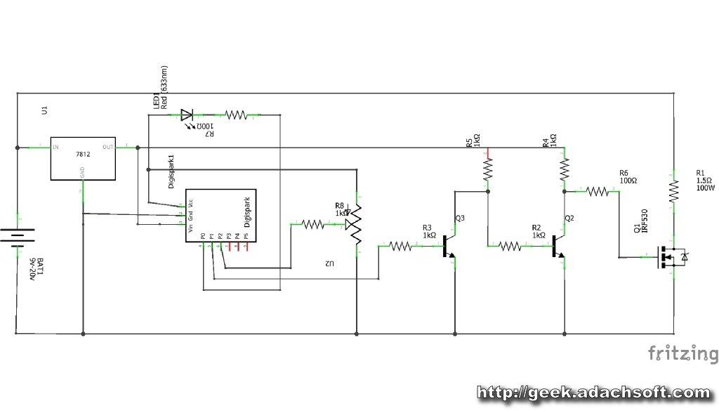 Hot Wire Foam Cutter - Arduino PWM - Arduino Project HubArduino Create