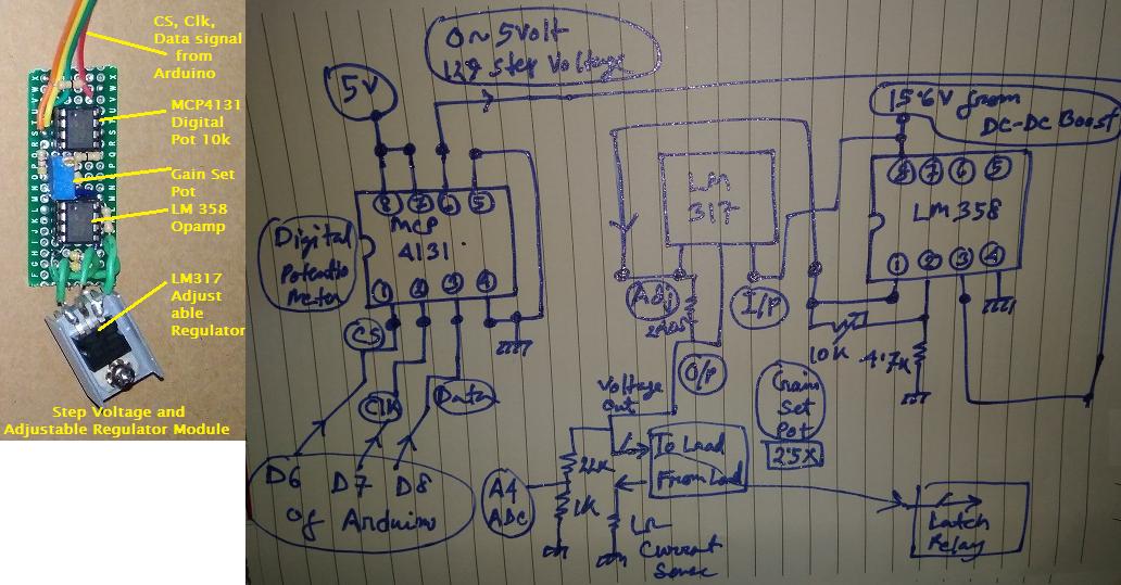 2  step voltage and adjustable regulator module cdn6lkxrqn