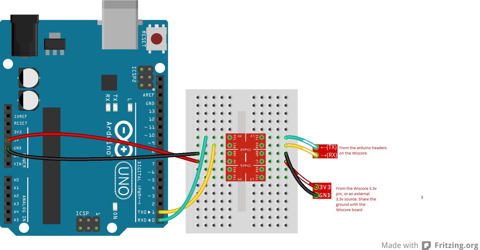 Arduino connection zr4rmsg0el