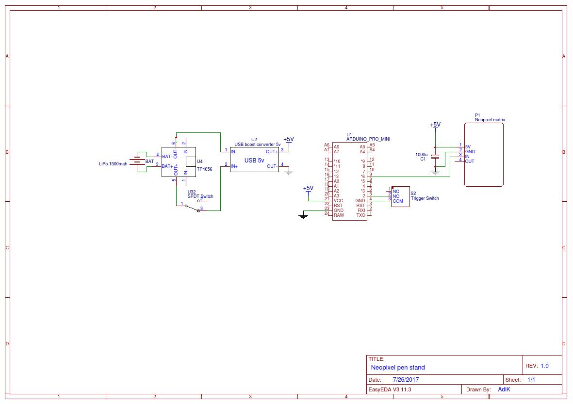 Neopixel matrix ls4n299c0p