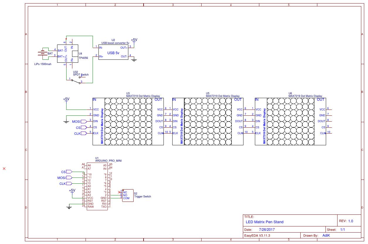 Led matrix module 0dxmnajc85