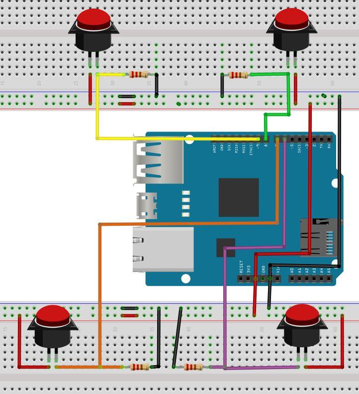Arduino wiring swbzlfta24