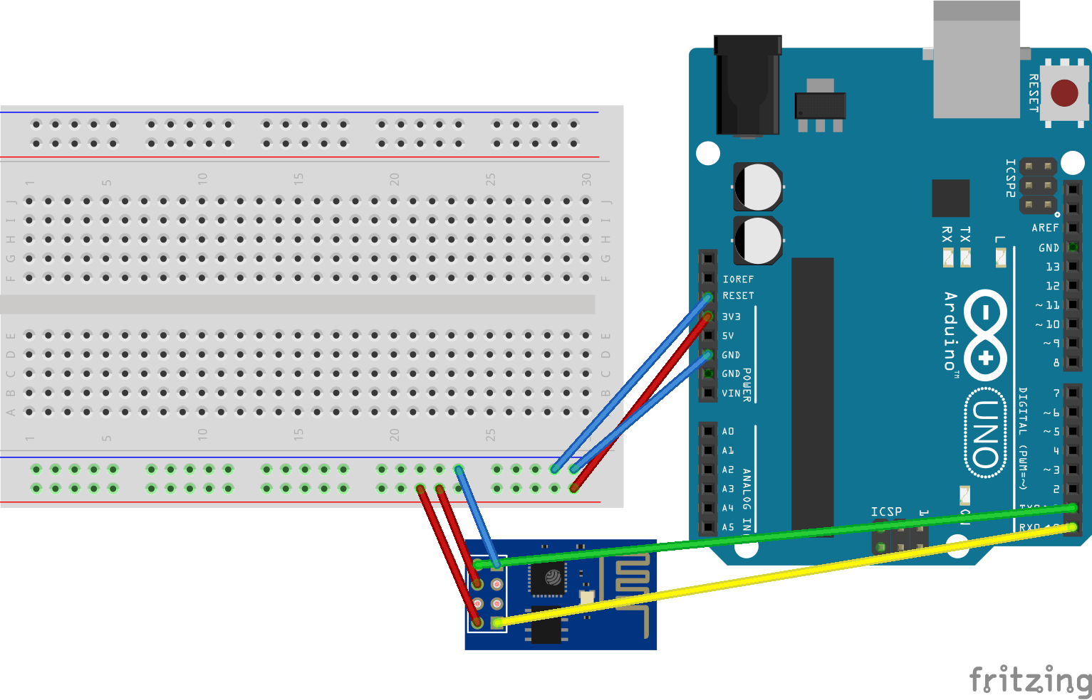 How To Communicate With Esp8266 Via Arduino Uno