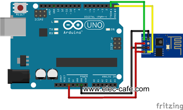 Esp8266 esp 01 firmware update elec cafe wd7rj0lqp5