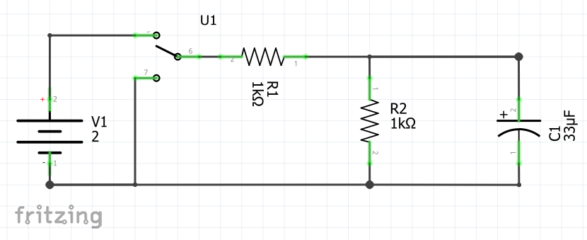 Measure Rc Circuit With An Openscope Mz And Labview