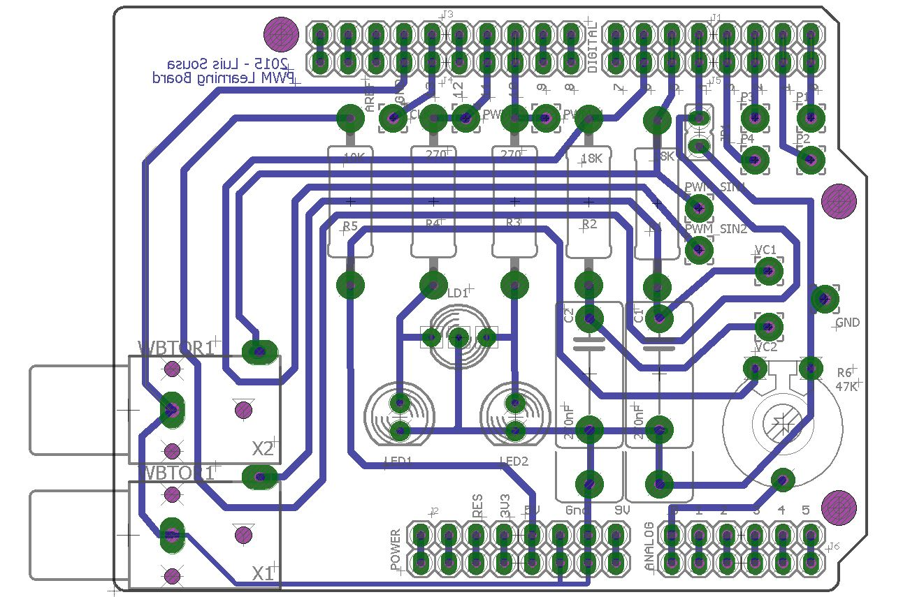 Pwm board pcb diagram hmxtsecb78