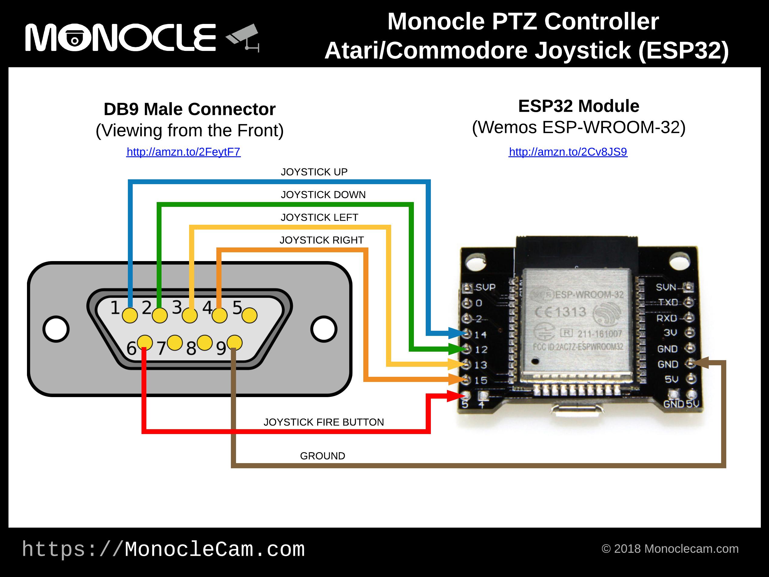 Monocle ptzcontroller atarijoystick esp32 j38zy7zyjv
