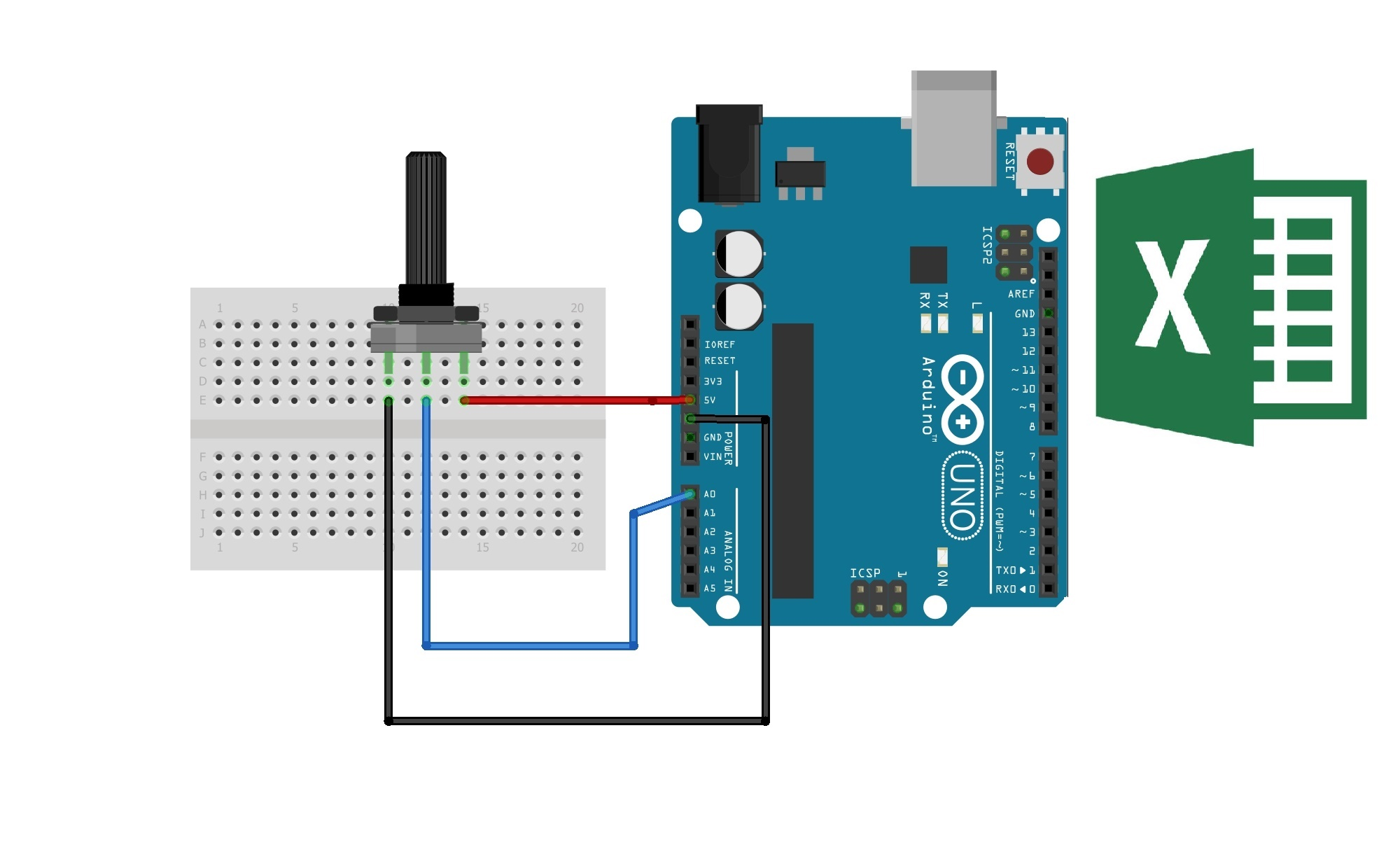 Arduino with resistor fongolhzpk