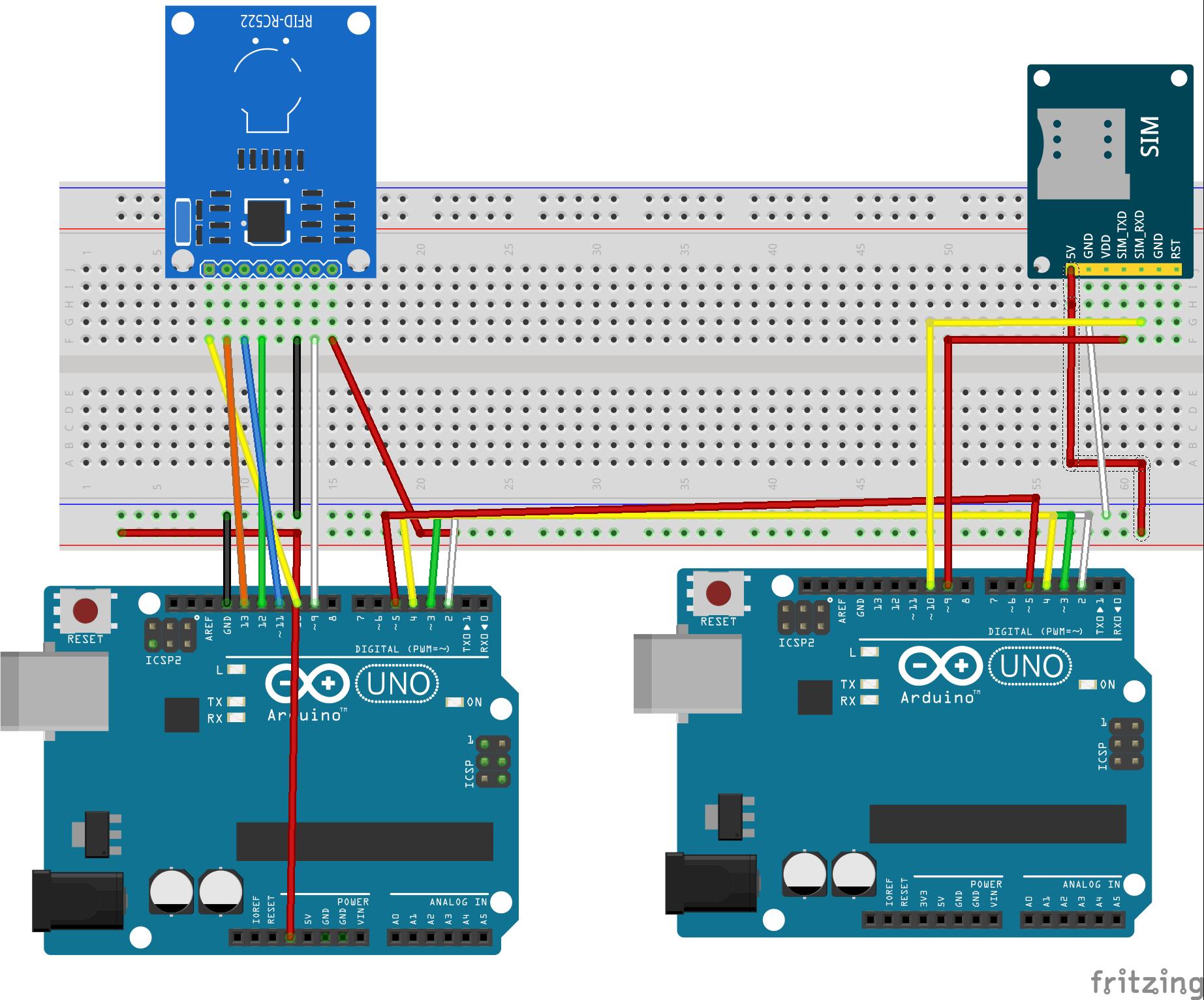 Arduino uno r3 with rfid rc522 bb pz68fkbwu7