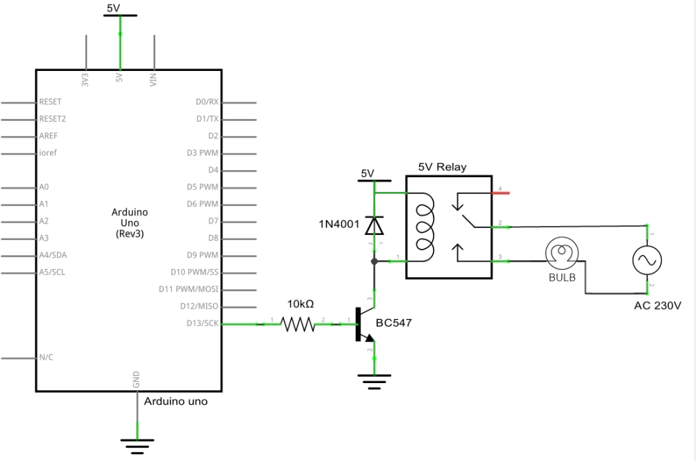 control ac light using arduino  arduino project hub