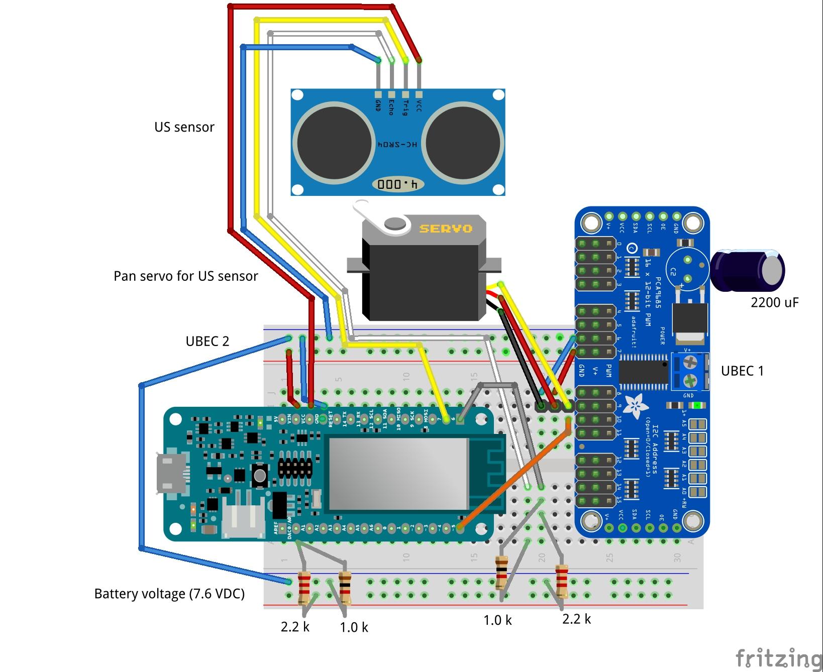 Us sensor and servo bb qagr4pjkvo
