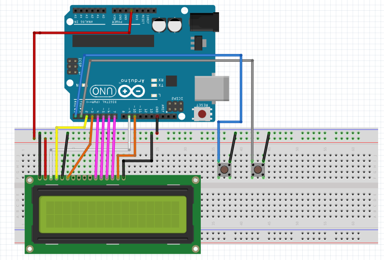 Breadboard wiring simplest uno clock ever ypkwxzowdr