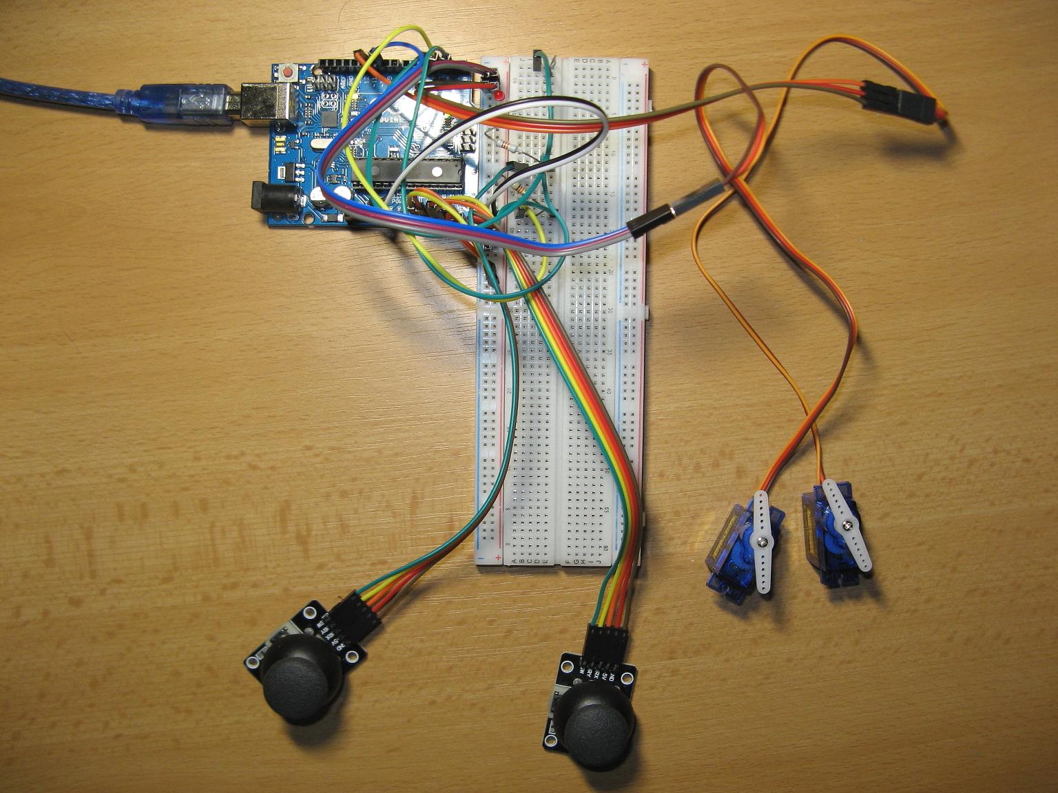 Arduino mearm joystick recorder pfrak0x99r
