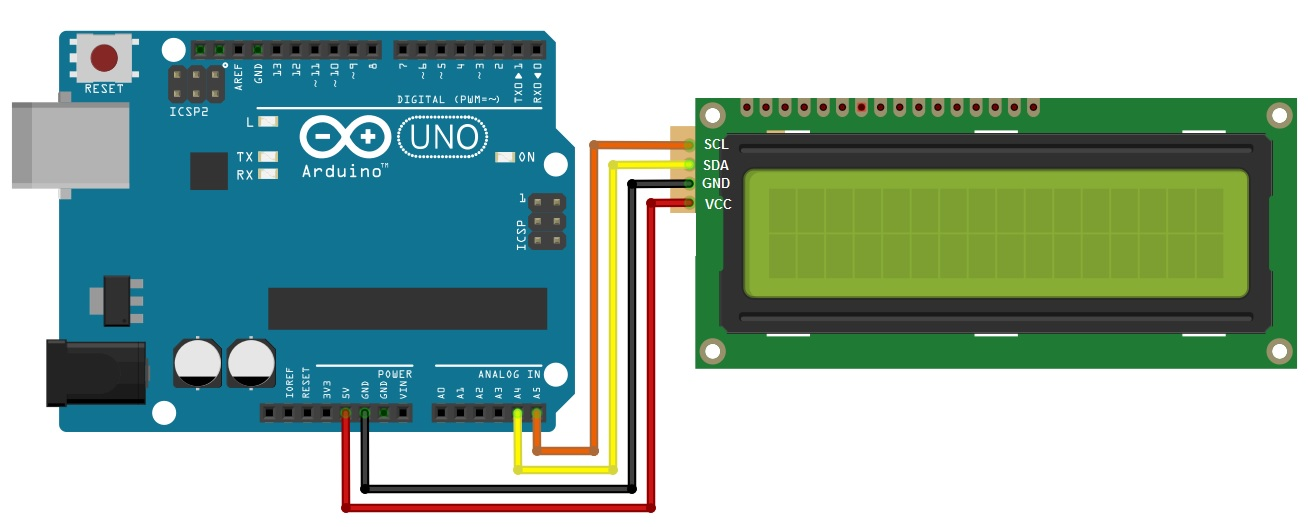 Fritzing sketch for lcd1602 and arduino vnxiwtehlv