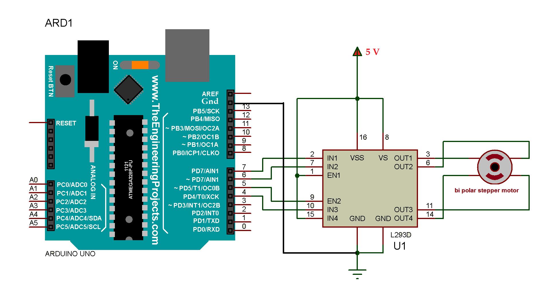Bi polar stepper motor drive circuit for arduino yhzkxuhqv5