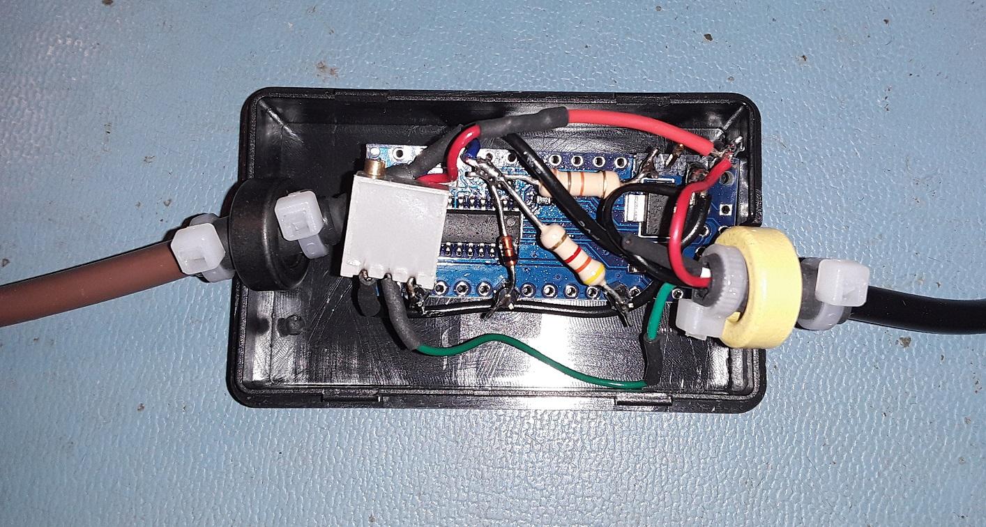 Icom ci v   arduino external s meter 4 golb4fdopd