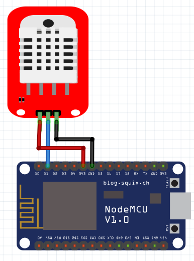 Blynk  Nodemcu And Dht-22