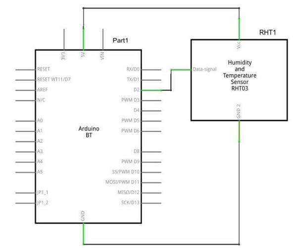arduino  humidity sensor  arduino project hub