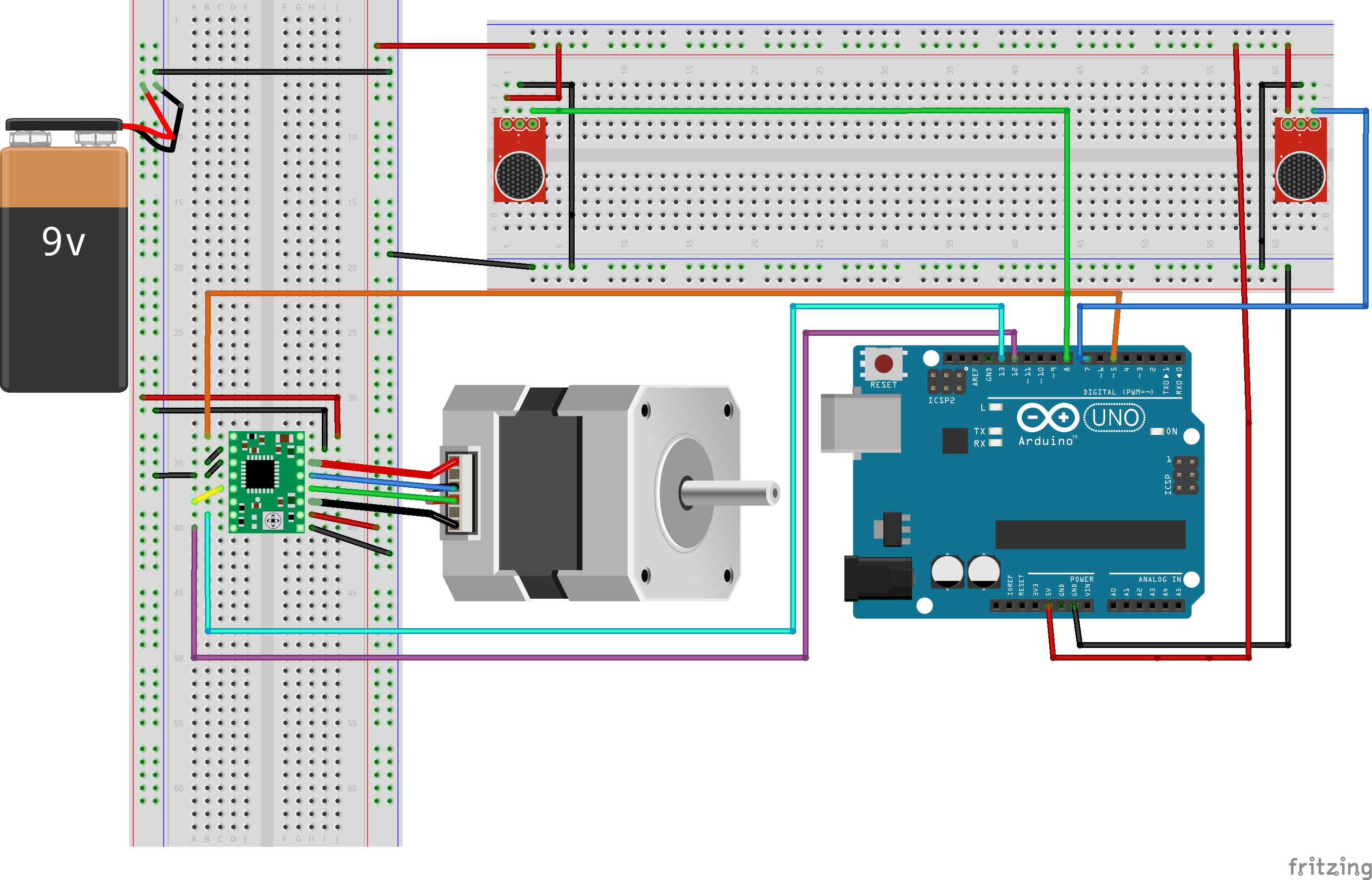 Sound directional finder with motion bb vk6c3qqhep